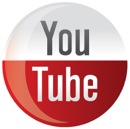 youtube icon round